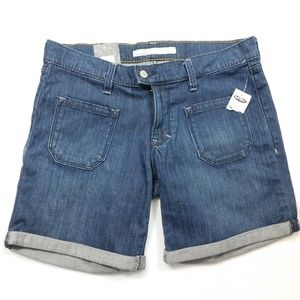 Old Navy The Diva Low Rise Stretch Denim Shorts 8